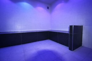 Tiled steam for Sports Direct