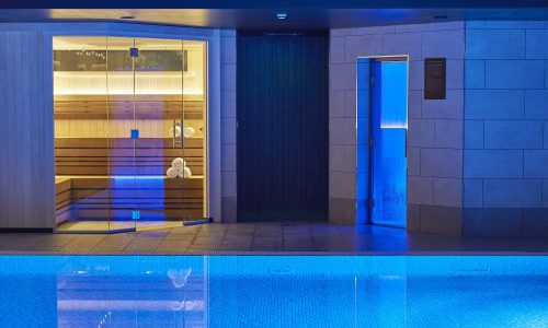 Sauna, Steam Room, Charlotte Square Hotel